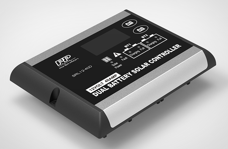 Dual battery controller series